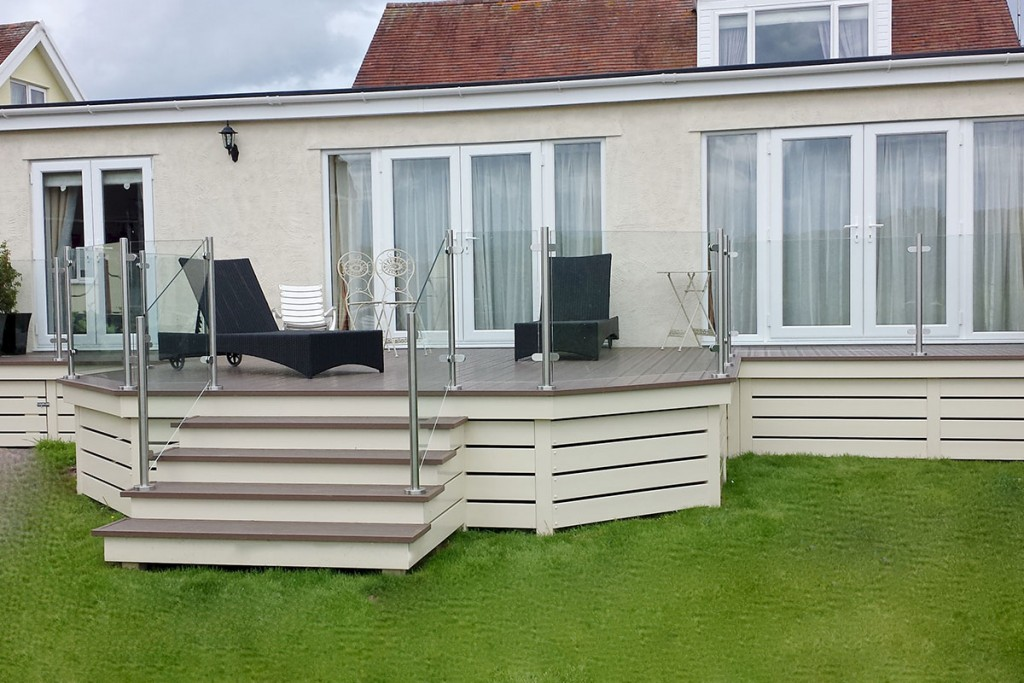 Large Home Decking Area